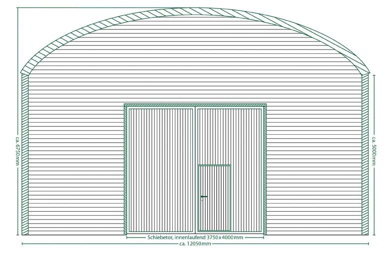 Runddachhalle Typ V12/5.0