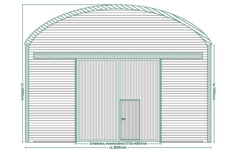 Runddachhalle V8/5.0