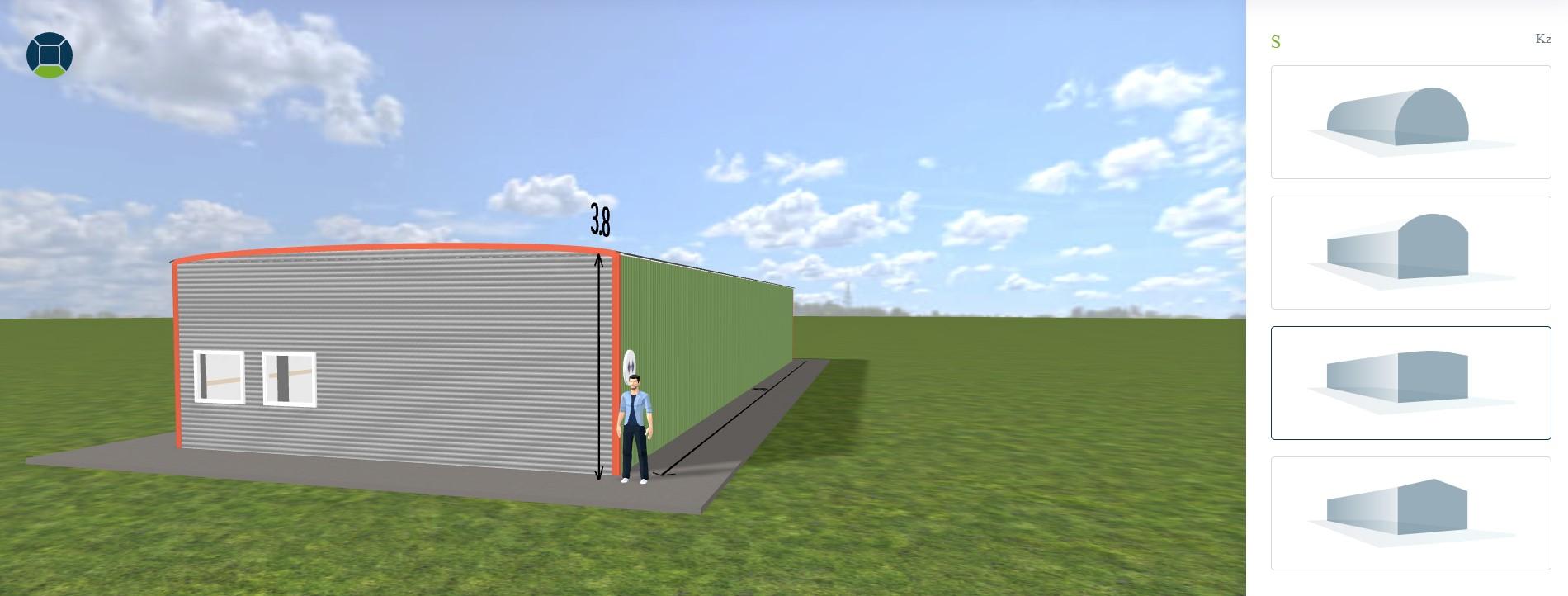 Bogenhallen-konfigurieren